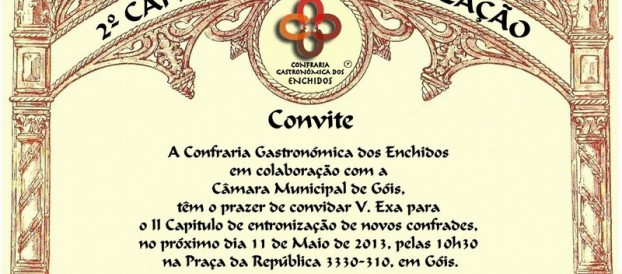 Convite: II Capítulo de Entronização