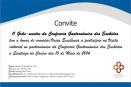 Convite para a Visita da Confraria dos Enchidos a Santiago do Cacém
